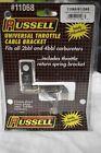 Russell Standard Throttle Cable Bracket Carburetor 2BL 4BL Chrome 11068/611068