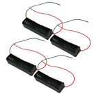 4Pcs-Battery Organizer Holder Boxes Storage Case For 1x18650 With 2 Wire Leads