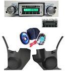 "1968-69 Cutlass/442 Radio Kick Panels 6"" x 9"" Speakers 230 Stereo w/ Factory AC"