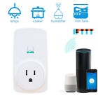 White Wireless Home Wifi Smart Plug Power Socket Outlet For Alexa Echo Google US