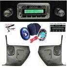"1967 GTO/LeMans/Tempest Radio w/ Kick Panels + 6 x 9""s  230 Stereo ** NO  AC"
