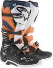 Alpinestars Tech 7 Boots Enduro Graphics 10 Black/Orange/Blue/White