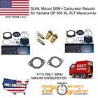 DUAL Mikuni SBN-I Carburetor Rebuild Kit Yamaha GP 800 XL XLT Waverunner Needle$
