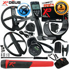 XP Deus Metal Detector w/ MI-4 Pinpointer, WS4 Backphones, Remote & 2 X35 Coils