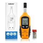 ERAY Temperature and Humidity Meter Gauge Monitor Digital Thermometer Handheld H