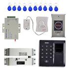 500 Fingerprint Access Control 10 Key Card Keypad Smart Lock Work Off Line