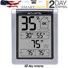 Digital Thermometer Humidity Monitor Meter With Indoor Room Gauge Indicator LCD