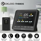 【 5 Day Forecast 】Digoo DG-TH8805 Wireless Color Weather Station Outdoor Sensor