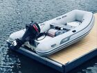 AB Navigo 10 VS RIB 2013 Inflatable Dingy with  Yamaha 15 HP 2 stroke outboard
