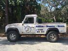 1986 Land Rover Defender  1986 Land Rover 110 Defender pickup truck