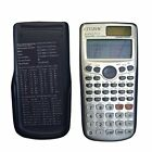 Two-way Solar Power Supply Large Display Scientific Mathmatic Calculator