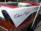 1957 21' Chris Craft Continental w/Fins 5200 no soak bottom very good condition
