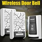 Waterproof Wireless Smart Doorbell  Forecum 5F 36 Songs with Two Receivers USA