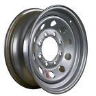 """ArcWheel Silver Modular Steel Trailer Wheel  16"""" x 6"""" Rim - 8 on 6.5"""