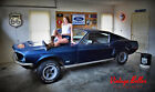 1968 Ford Mustang GT 1968 Ford Mustang Fastback GT - J Code 302 -1 of 534 - Marti Report Real GT