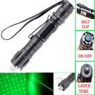 Powerful 5mW Green Laser Pointer Pen 10 Mile Range 532nm Visible Beam DKUR Lazer