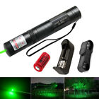 Tactical JD851 10 Miles Green Lazer pen Laser Pointer 532nm Visible Beam Zoom