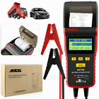 Ancel BST500 12V 24V Battery Tester With Printer Car Battery Diagnostic Tool NEW