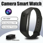 HD 1080P Cam DVR Hidden Camera Wearable Wrist Smart Watch Mini DV Video Recorder