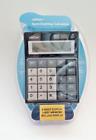 Caliber Semi Desktop Calculator 8 Digit LCD Display 3 Key Memory w/ Battery