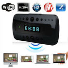 Wifi Camera Alarm Clock 1080P HD Micro Hidden Cam Motion Mini DV DVR Video US