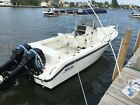Immaculate 23' Boston Whaler with trailer