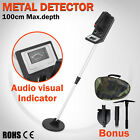 Adjustable Handheld Metal Detector With Foldable Shovel Cordless Treasure Hunter