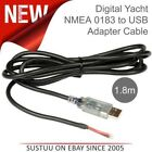 Digital Yacht NMEA 0183 to USB Adapter Cable - 1.8m│Plug & Play│Data Conversion