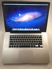 "Apple MacBook Pro 15"" 2009 2.66 Core 2 Duo 4GB 320HDD Office Adobe CS6 and more"