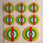 Central African Republic Air Force Stickers Cockade 3D Adhesive Flag Resin Domed