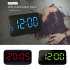 Digital LED Display Sound Control Alarm Clock Snooze Backlight USB / AAA Powered