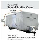 """Classic Accesories Travel Trailor Cover 27-30' length x 118"""" Max Height"""