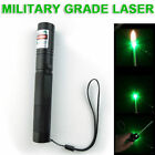 Powerful 532nm Green Laser Pointer Pen Zoom Focus Visible Beam Light High Power