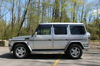 "2001 Mercedes-Benz G-Class G500 2001 G500 ""G-Wagon"" Silver with AMG badges"