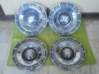 "80 81 82 83 84 85 Chevrolet Caprice Hubcaps 15"" Set of 4 Wheel Covers Hub Caps"