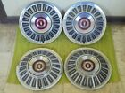 "1967 Ford Hub Caps 15"" Set of 4 Wheel Covers Hubcaps 1967"