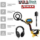LED Metal Detector Outdoor Gold Digger Sensitive Ground Search Hunter Pinpoint U