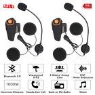 2X 1000m Motorcycle Helmet Interphone Bluetooth FM/GPS/MP3 Player/ Walkie-Talkie