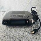 Sony ICF-C253 Clock Dream Machine Radio - Black (Discontinued) Tested
