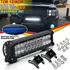 12inch 72W Cree LED Light Bar Spot Flood Combo Beam Work Driving 4WD For Tocama