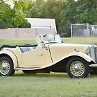 1953 MG T-Series Mk II TD In Good Condition • Authentic Mark II
