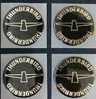 Ford Thunderbird Adhesive Backed Wheelcover Emblem - NOS - Set of 4