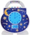 My Tot Clock My Toddler, White
