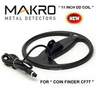 "MAKRO COIN FINDER CF77  11"" DD Metal Detector SEARCH COIL C28"