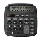 True Solar Power Energy Electronic Mini Calculator High Definition LCD Display
