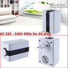 EU Plug LED Air Purifier Cleaner Smoke Ionic Ionizer Negative Fresh Office Room