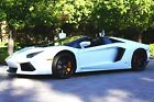2017 Lamborghini Aventador LP700-4 Roadster One Owner!  Privately Owned! Factory Warranty! Optional Bianco ISI Paint!