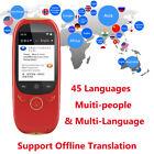 Translation Intelligent Translator 45 Languages Instant Voice Pocket Device Q5L0