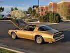 1978 Pontiac Trans Am  1978 Trans Am Gold Special Edition,Y88, 4 Spd, Fisher TTop