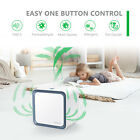 Portable 3 In 1 Ionic Air Purifier Mold Odor Smoke Remover w/Extra HEPA Filter